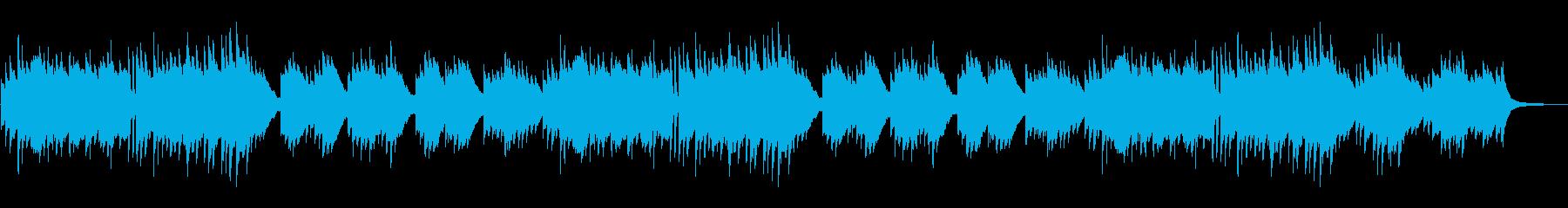ゆったり切ない印象な和風のピアノソロの再生済みの波形