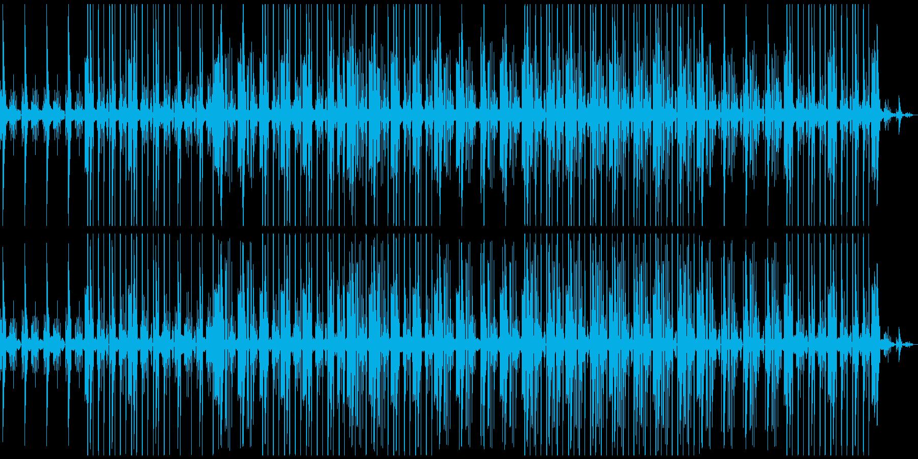 シンプルで落ち着く奇跡の再生済みの波形