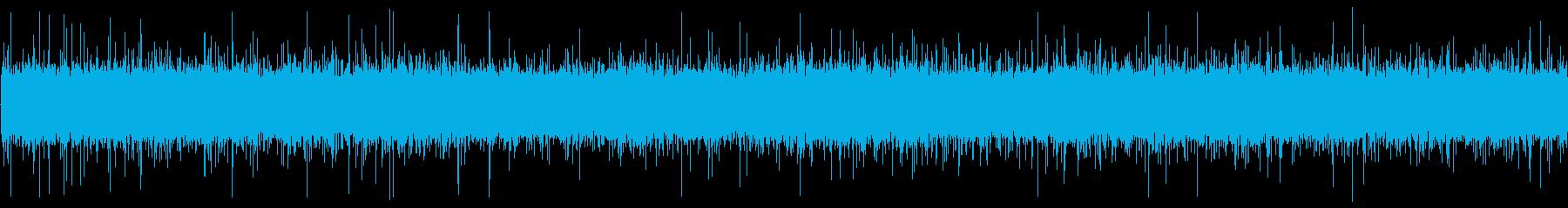 流れ水 水 クリークリップル01の再生済みの波形