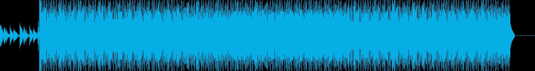 ギター&シンセが印象的なヒップホップの再生済みの波形