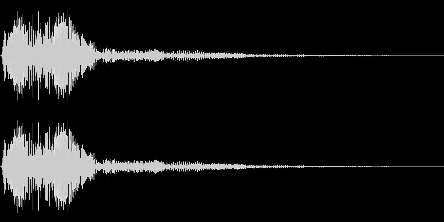 決定・空気感・キャッチー・印象的15の未再生の波形