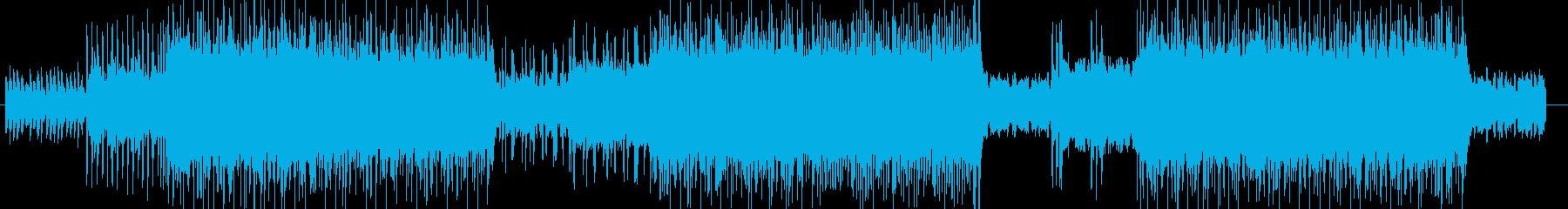 ROCK「DARK/ホラー」BGM285の再生済みの波形