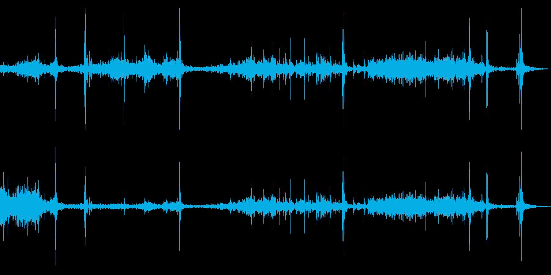 スケートボード/スケボーすべる効果音!3の再生済みの波形