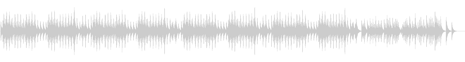 ドヴォルザーク「ユモレスク」のオルゴールの未再生の波形