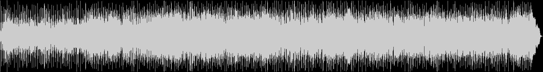 ブルージーなハーモニカのブルースの未再生の波形