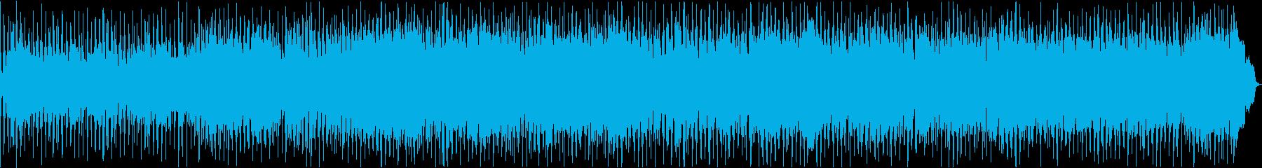 ブルージーなハーモニカのブルースの再生済みの波形