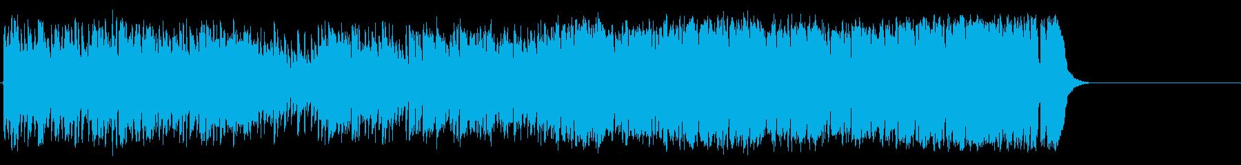 元気で軽快なポップス(イントロ~A~…)の再生済みの波形