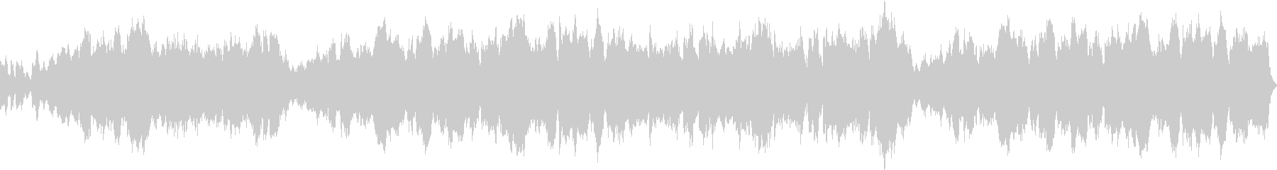 ほのぼのした日常系クラリネット ループ可の未再生の波形