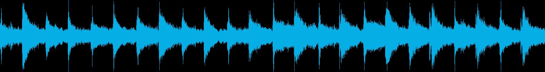 チクタクと時を支配する次元空間 暗ループの再生済みの波形