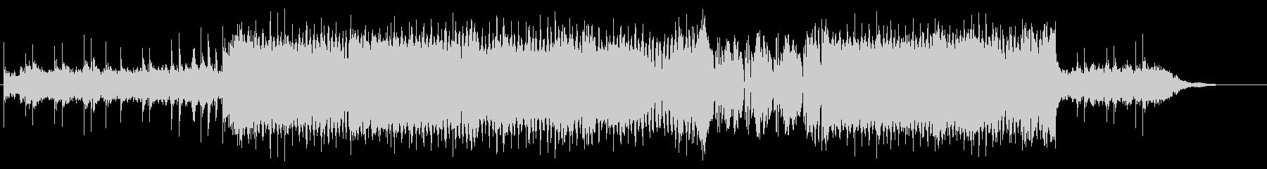 トランス調のクールな曲の未再生の波形