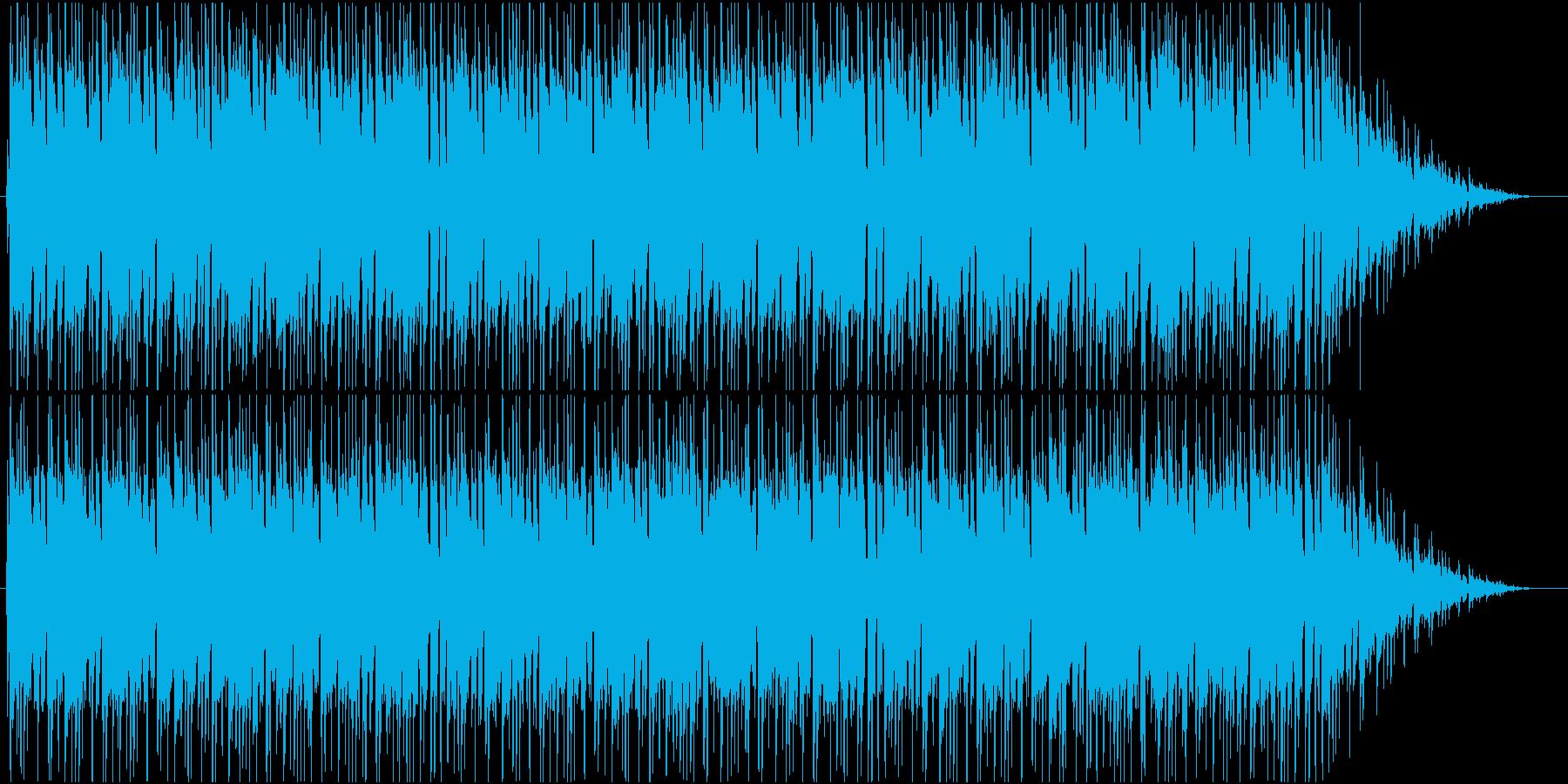 TVショッピングっぽいボサノバの再生済みの波形