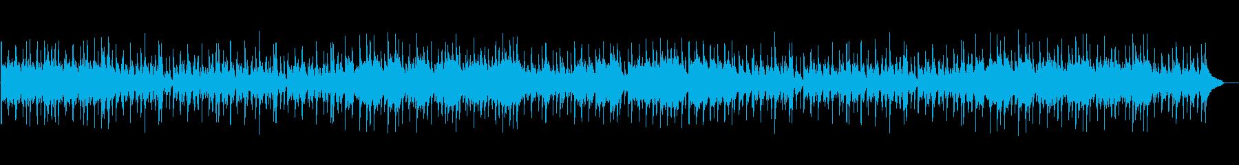 おしゃれな感じでクールなスイングジャズの再生済みの波形