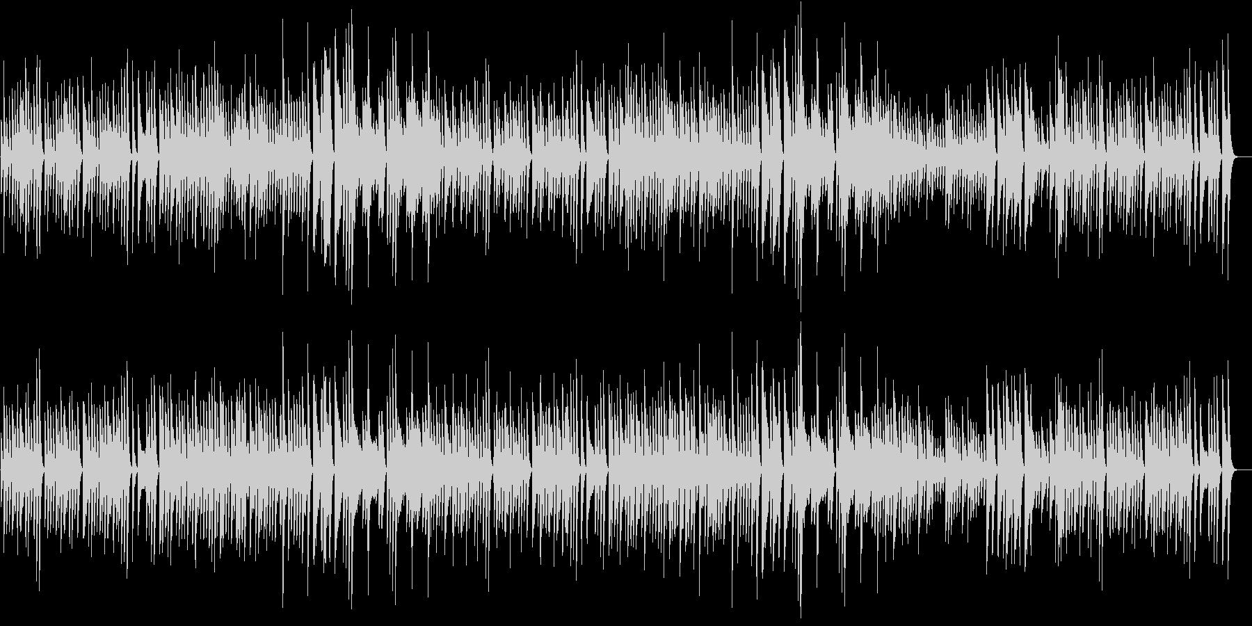 猫動画に♪リズミカルお茶目なピアノBGMの未再生の波形
