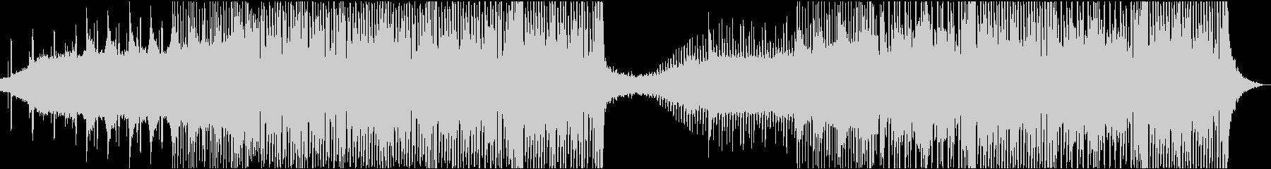 ダークで少し不思議なエレクトロの未再生の波形