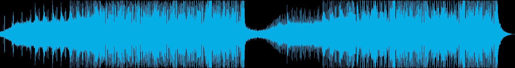 ダークで少し不思議なエレクトロの再生済みの波形