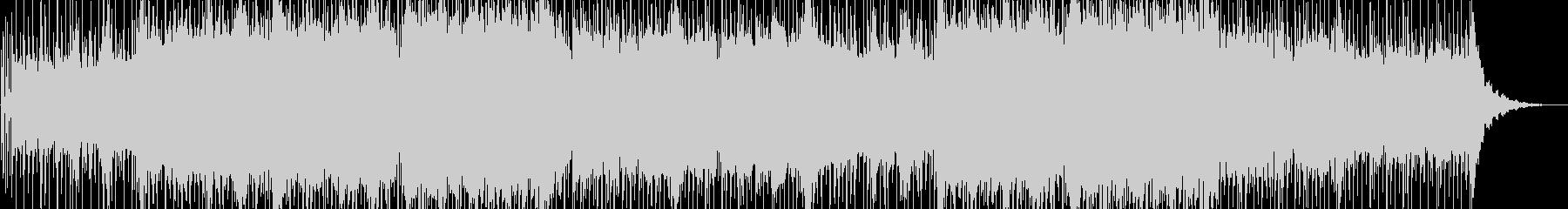 実験的な岩 バックシェイク 感情的...の未再生の波形