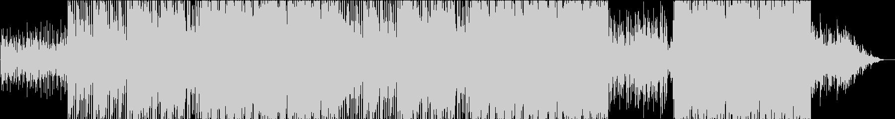 ラウンジ、リラックス、トロピカルの未再生の波形