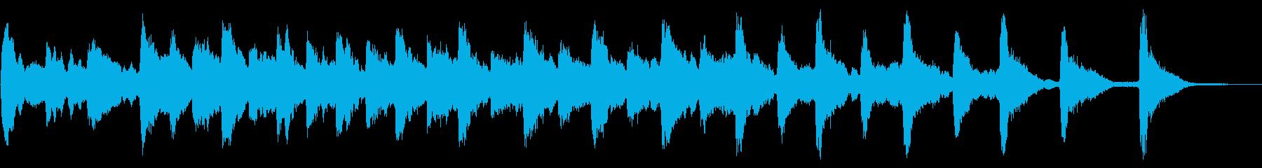 レプトンチャーチアベル:リンギングの再生済みの波形