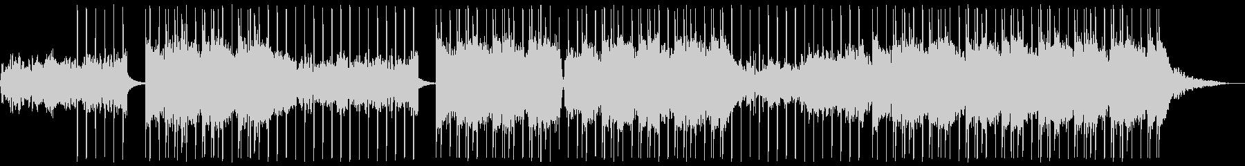 ダークでテンポ良いレトロポップ/オルガンの未再生の波形