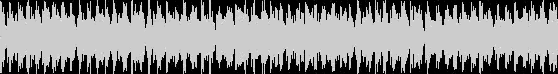 スタイリッシュで不穏な曲 ループ処理1の未再生の波形