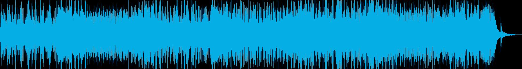 情熱的なピアノソロの再生済みの波形