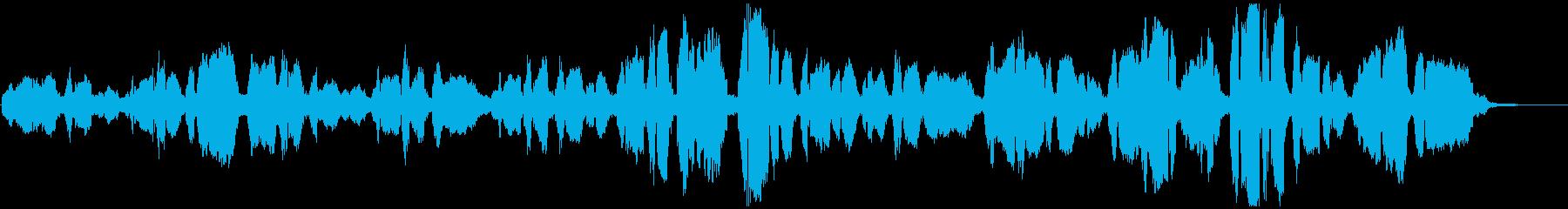 有名な賛美歌を女性デュオでの再生済みの波形