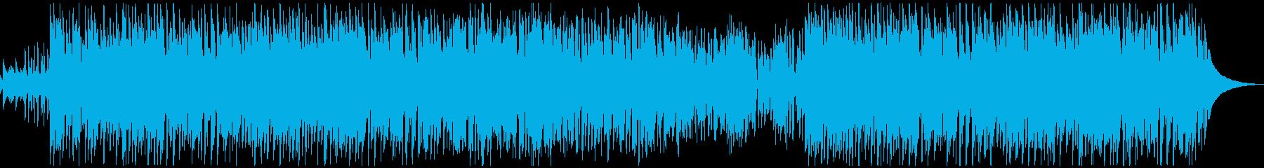 日常系のほのぼのかわいいBGMの再生済みの波形