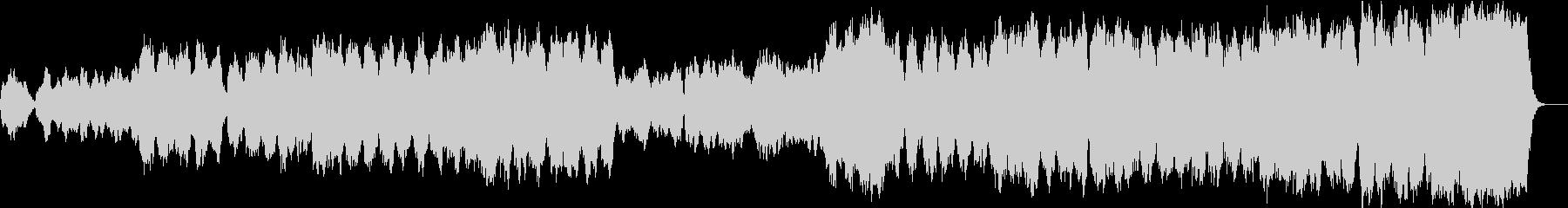 オーケストラサウンドのドラマのOPの未再生の波形