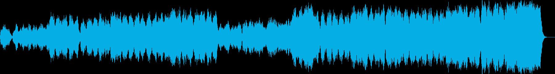 オーケストラサウンドのドラマのOPの再生済みの波形