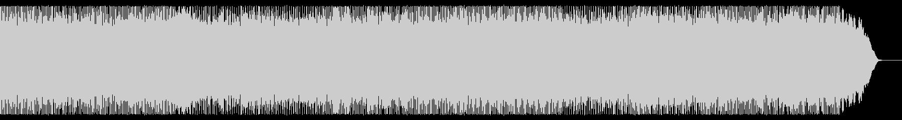 メロディックな全編速弾き系のメタルBGMの未再生の波形