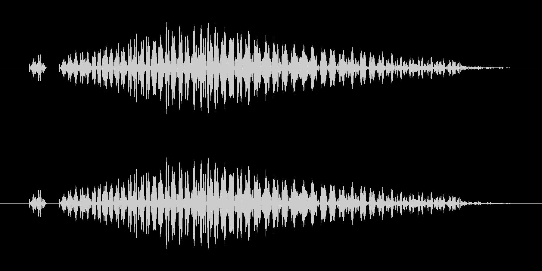 システム画面/閉じる/キャンセル効果音3の未再生の波形