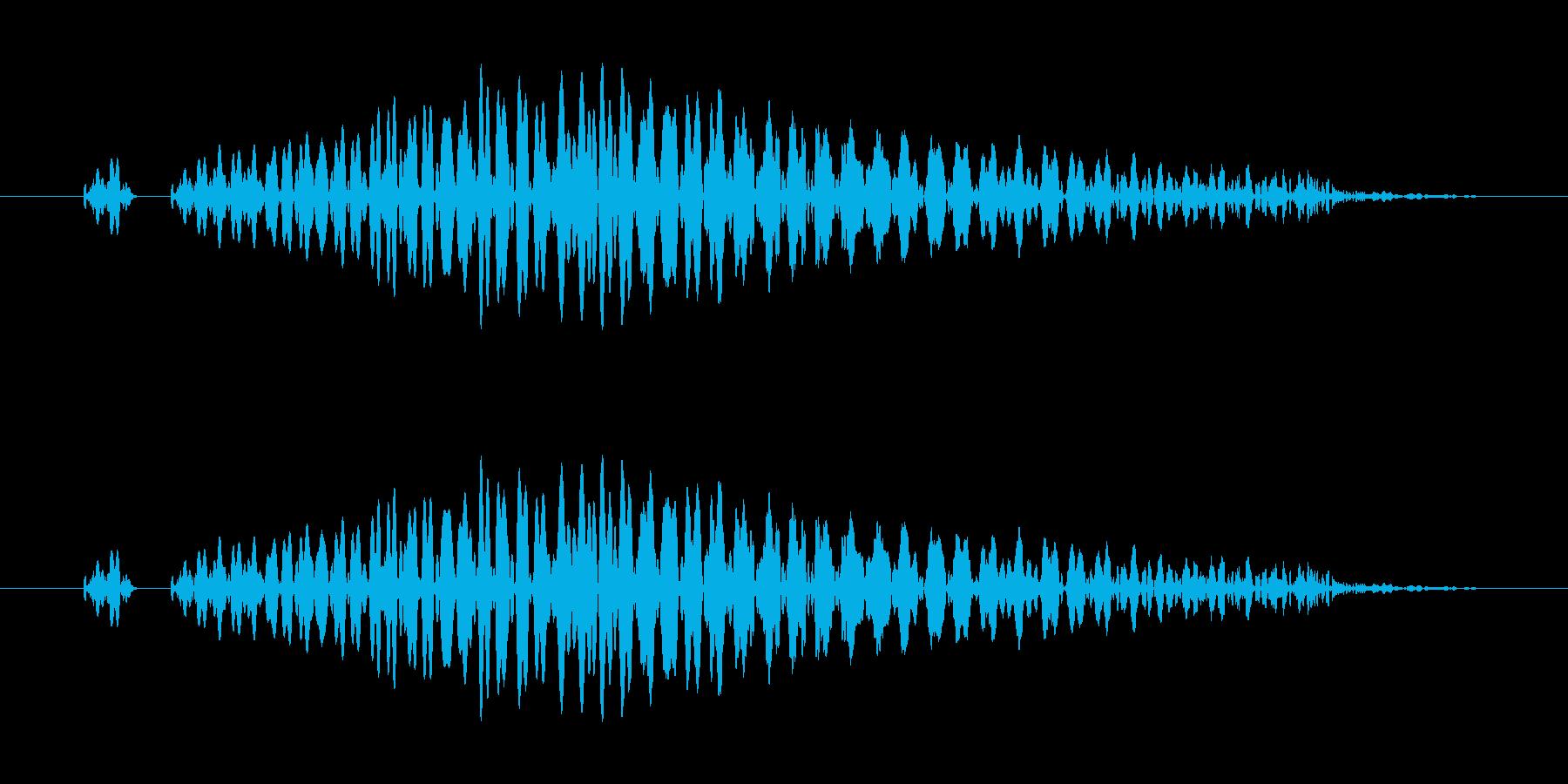 システム画面/閉じる/キャンセル効果音3の再生済みの波形