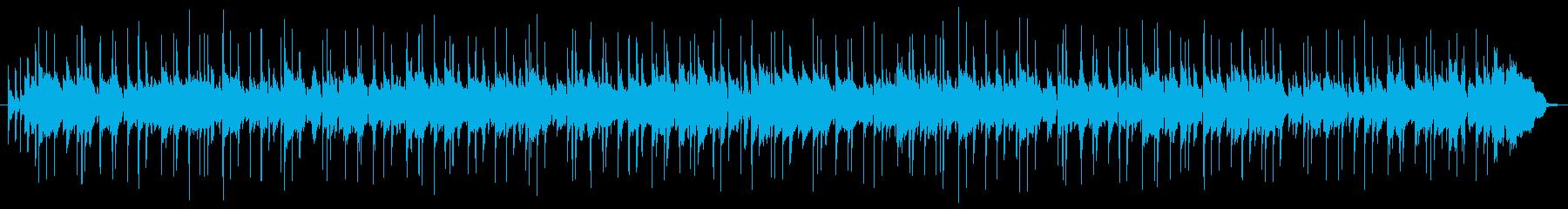 ファンキーなブルースの再生済みの波形