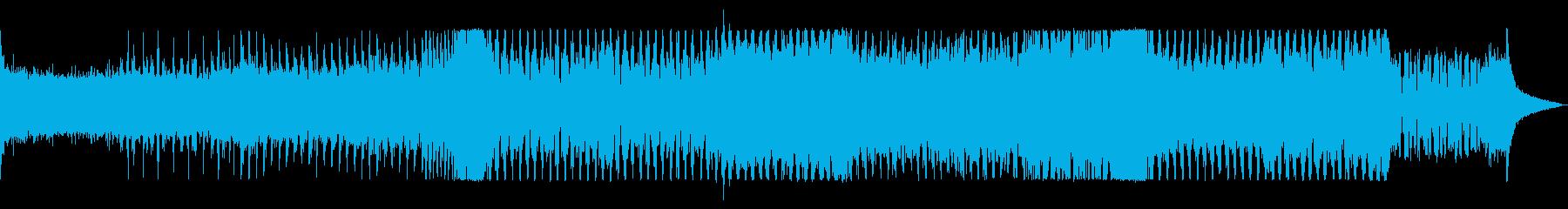 オープニングを盛り上げるエレクトロハウスの再生済みの波形