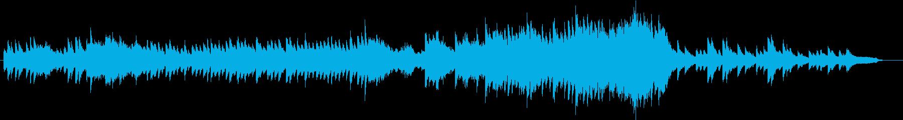 妖精・神秘的な泉・あたたかな空気・ピアノの再生済みの波形
