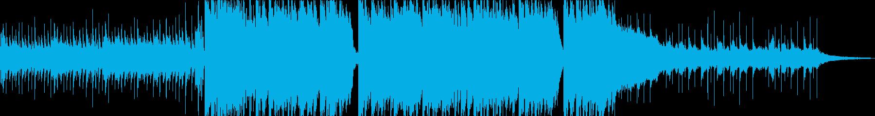 ゲーム実況のエンディングに最適なEDMの再生済みの波形