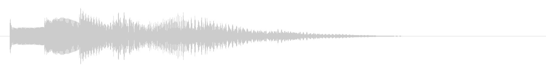 KANTベルサウンドジングル72の未再生の波形