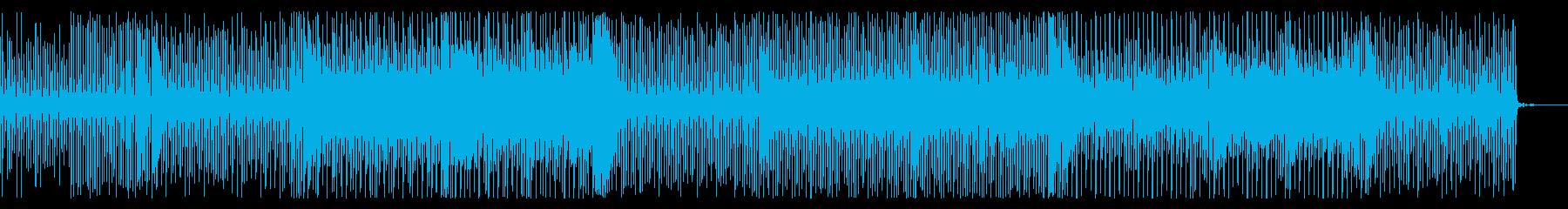 全力で急がされている感じの曲の再生済みの波形