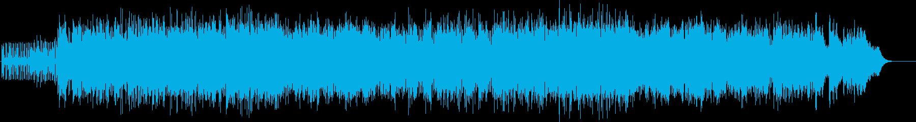 はじける感じで電子的の再生済みの波形