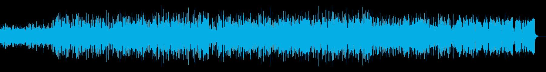 秋から冬向けの切ないバラードの再生済みの波形
