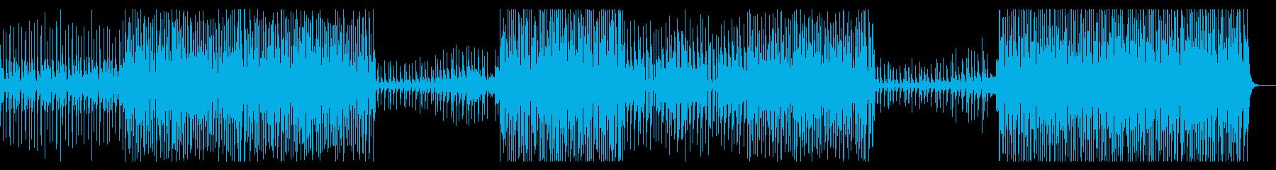おしゃれ楽しい!男性Voトロピカルハウスの再生済みの波形