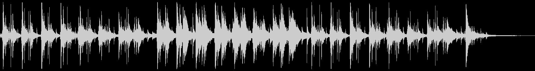 ピアノが印象的なゆったり落ち着くジャズ2の未再生の波形