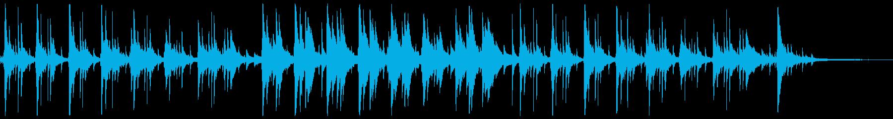 ピアノが印象的なゆったり落ち着くジャズ2の再生済みの波形