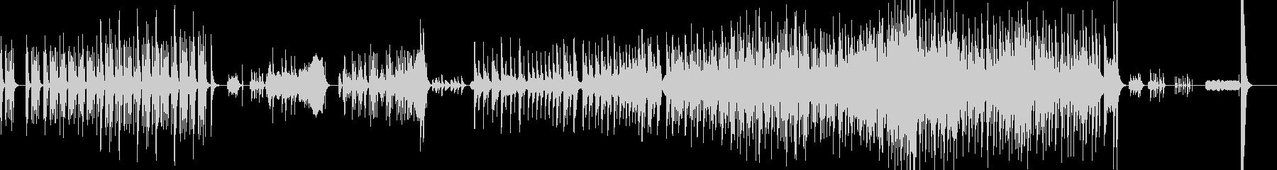 和太鼓・マリンバと弦のアンサンブルの未再生の波形