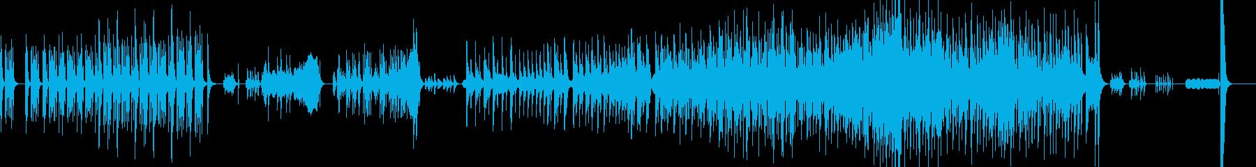 和太鼓・マリンバと弦のアンサンブルの再生済みの波形