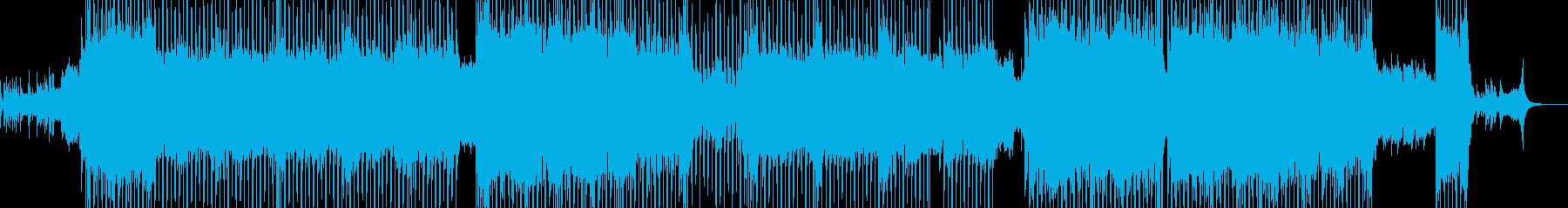 2人が結ばれる演出に・スローテクノ Aの再生済みの波形