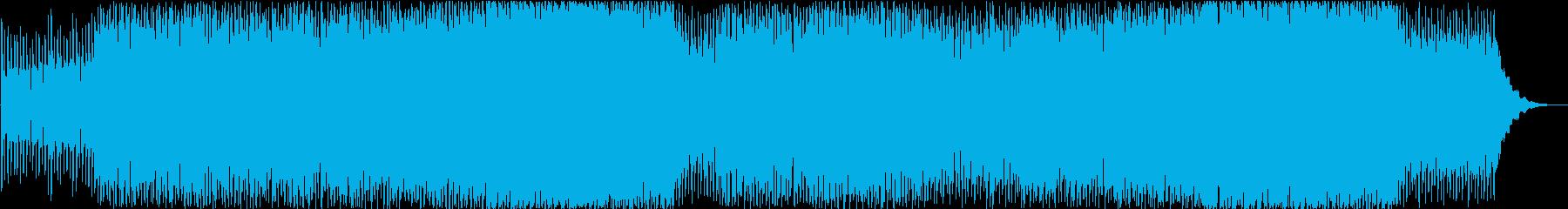 MALLの再生済みの波形
