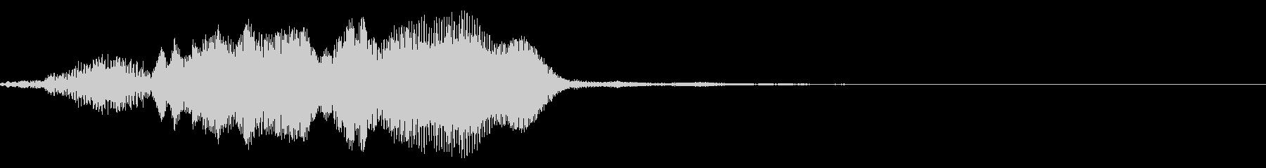 ギギィ~…軋む音 1の未再生の波形