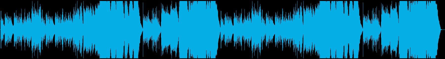 ピアノ&弦の幻想的なワルツの再生済みの波形