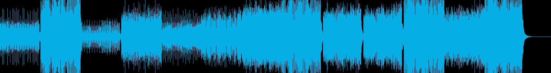 壮大で重厚なトランス -ヒット無しverの再生済みの波形